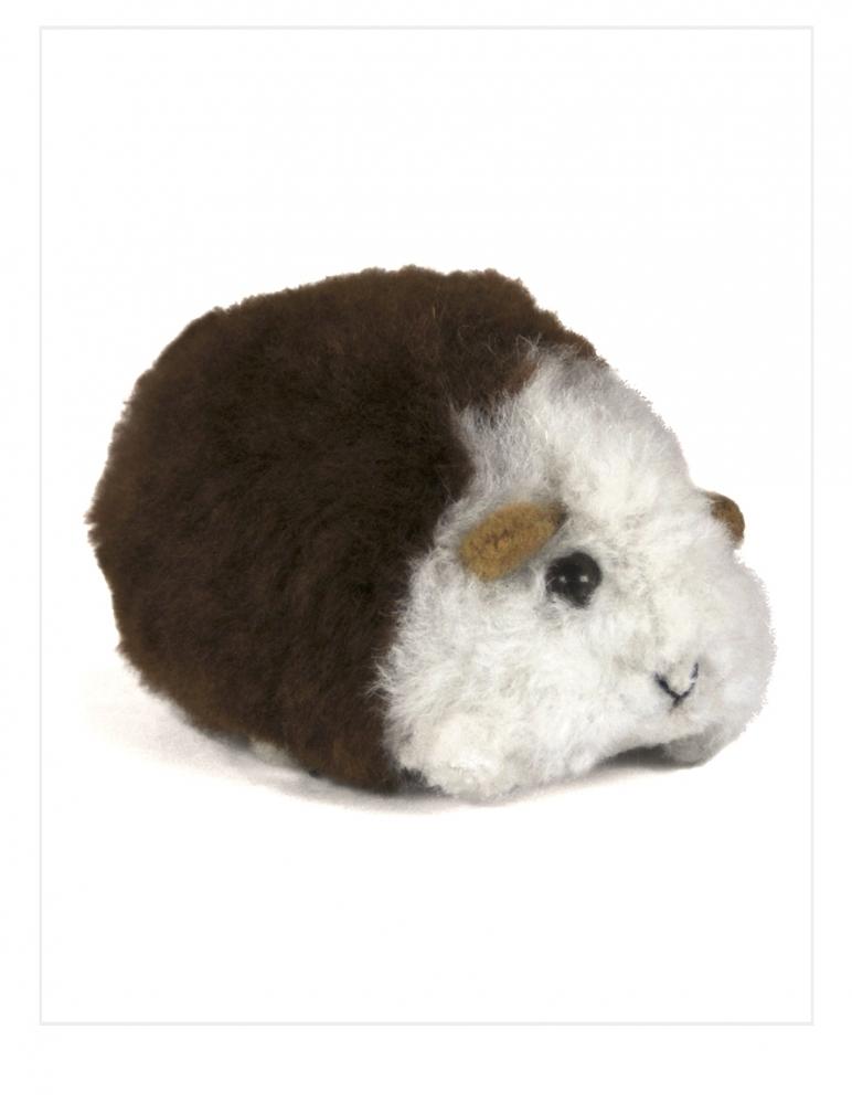 Chico Guinea Pig: Alpaca Fur