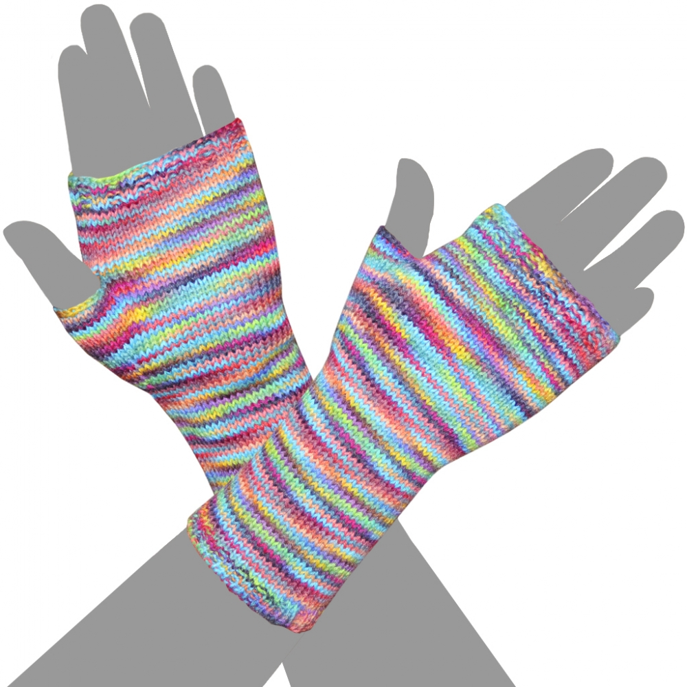 Royan Fingerless Mittens