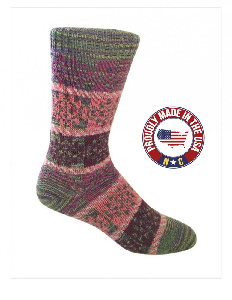 Santa Fe: Alpaca Socks