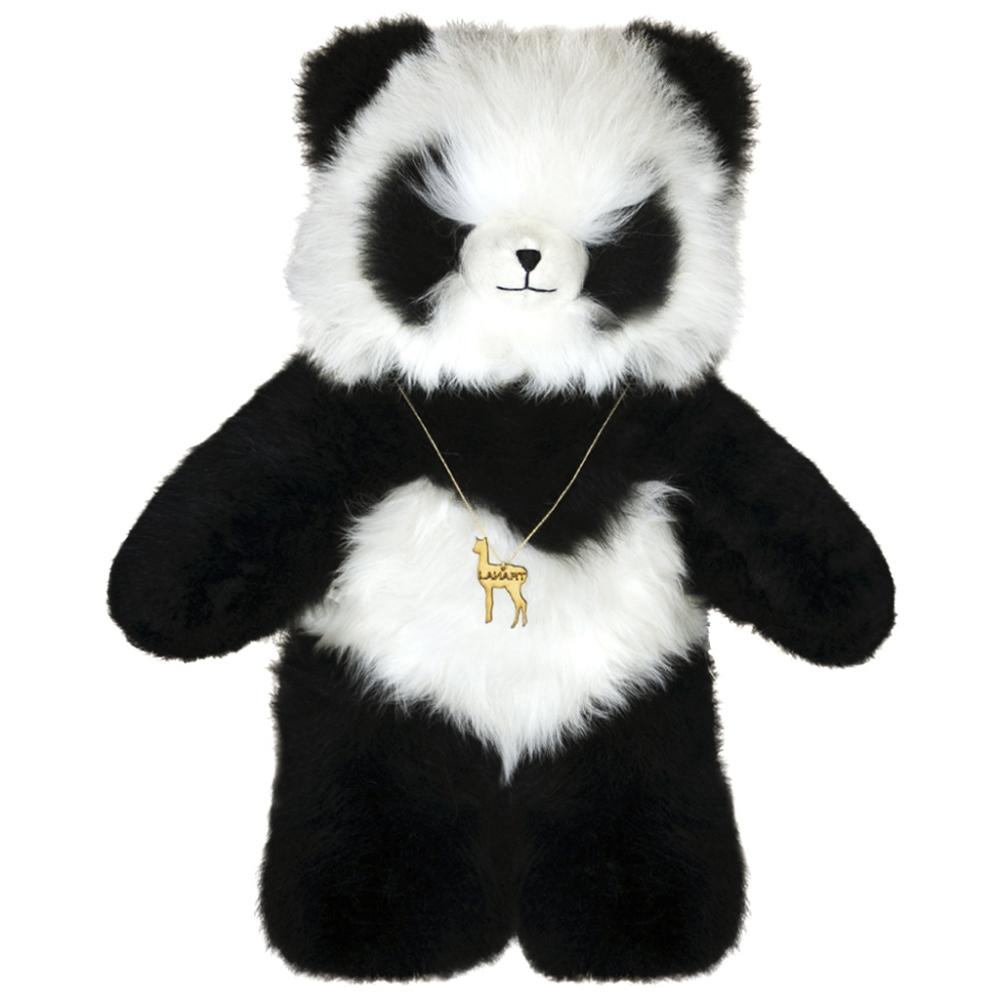 Panda Bear Alpaca Fur