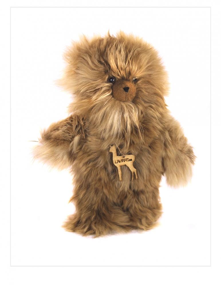 "Suri Alpaca Teddy Bear: Petite 8"""