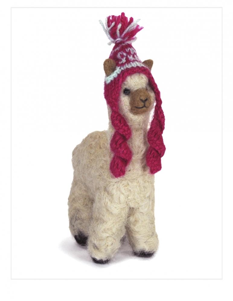 """Felted Cria Alpaca 5.5"""""""