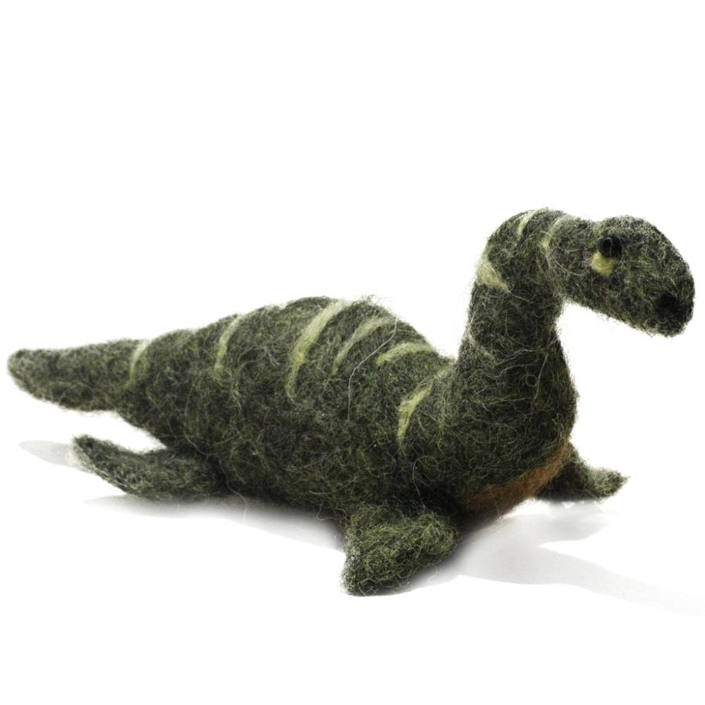 Plesiosaur Dinosaur: Felted Alpaca