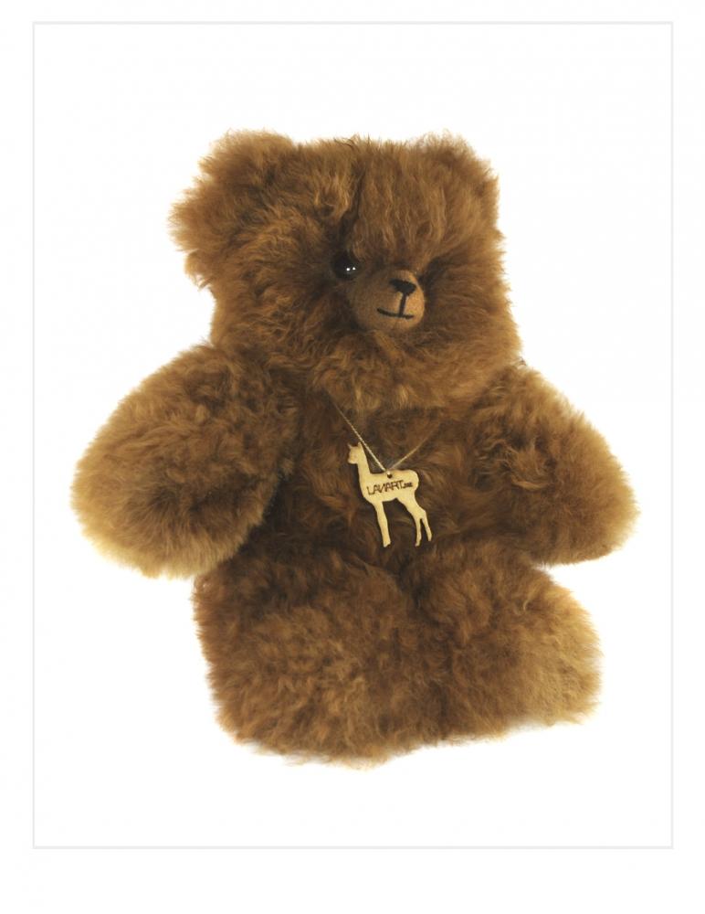 """Alpaca Teddy Bear: Cuddly 11"""""""