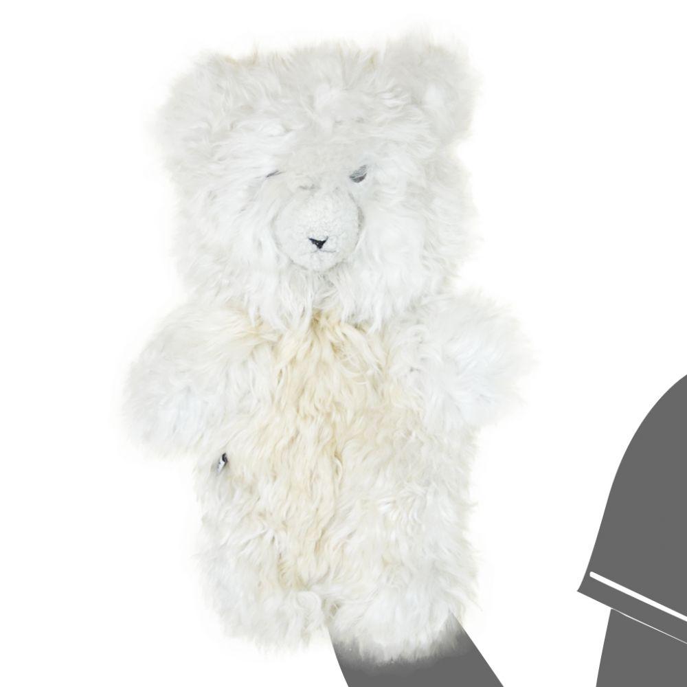 Hand Puppet Alpaca Teddy Bear