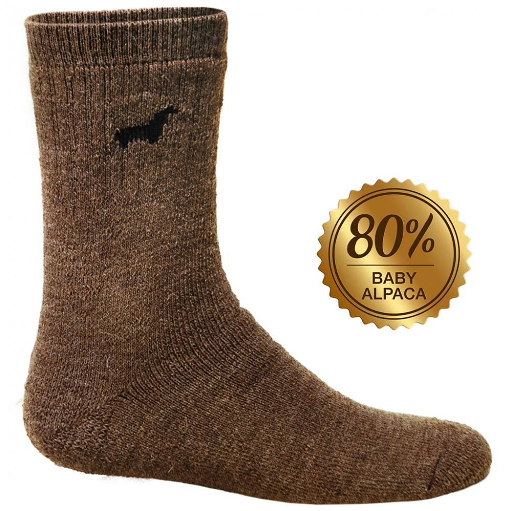 Hunter Socks: Baby Alpaca