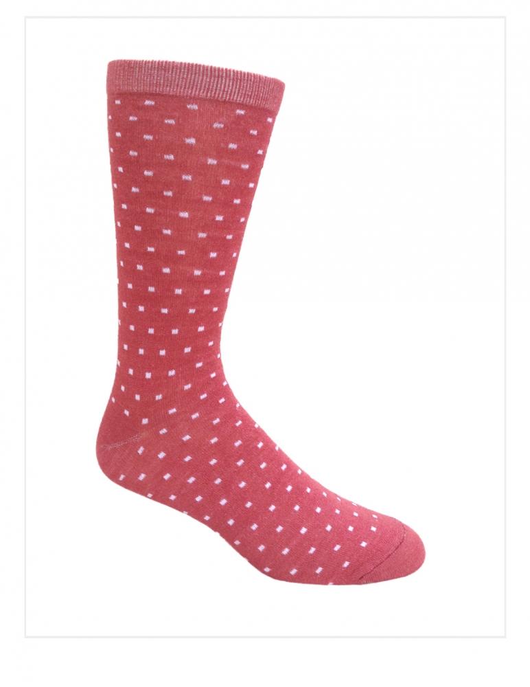 Executive Socks Baby Alpaca & Silk CUBES Design