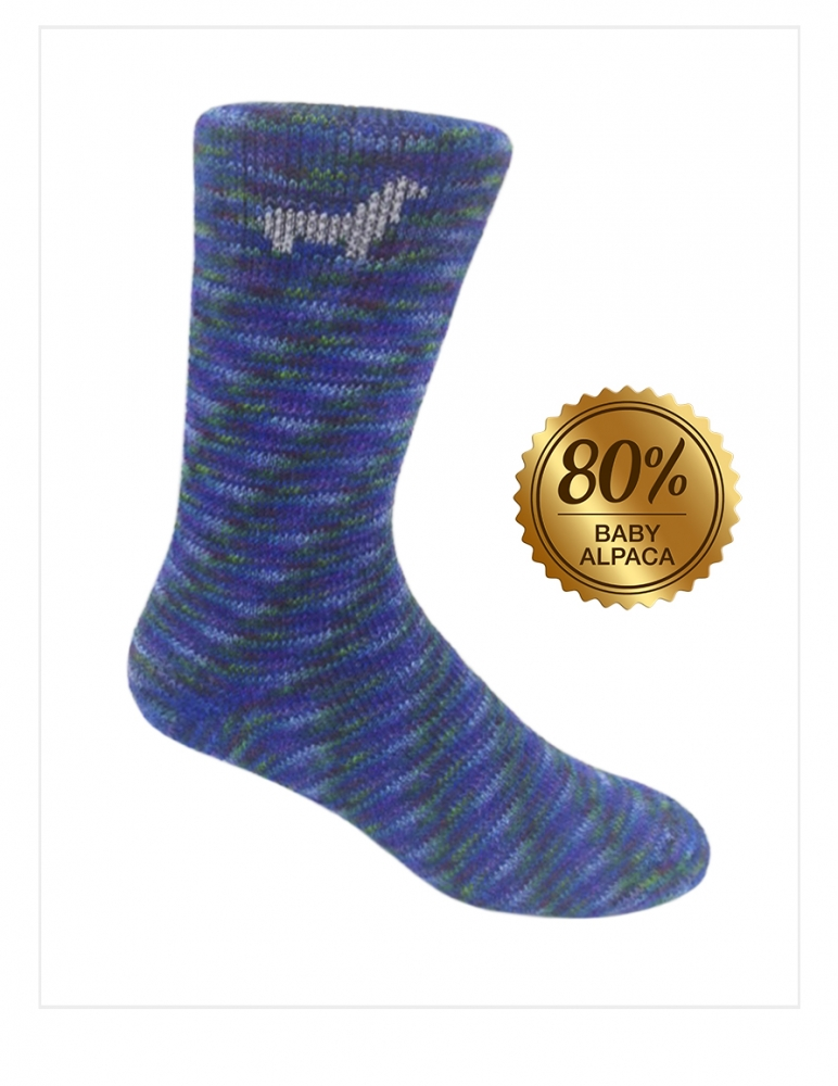 Royan Socks: Baby Alpaca