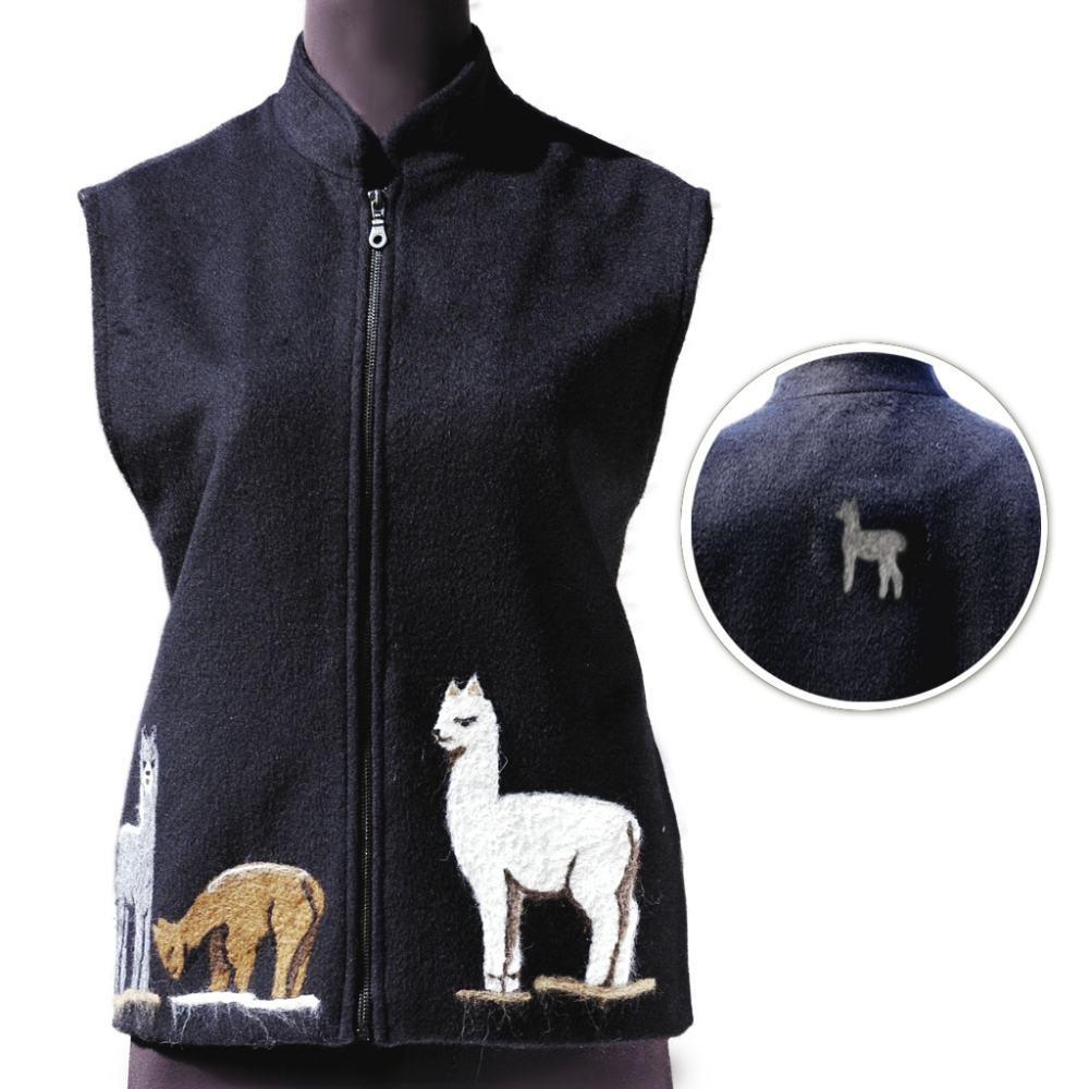 Show Ring Alpaca Vest
