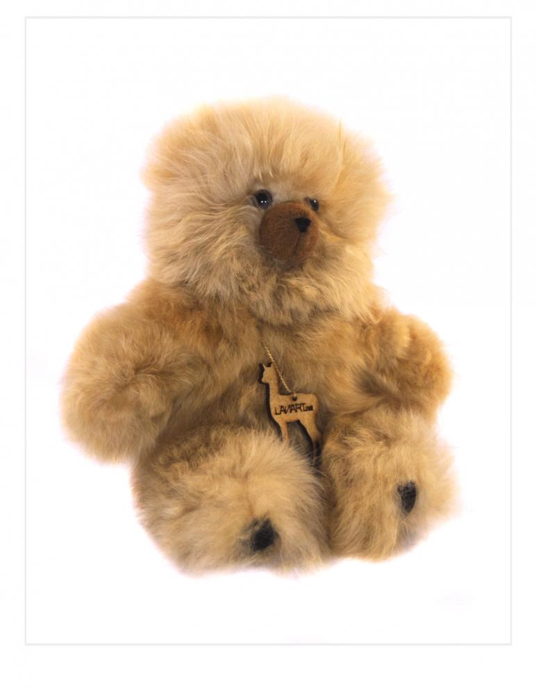 "Alpaca Teddy Bear: Petite 8"""