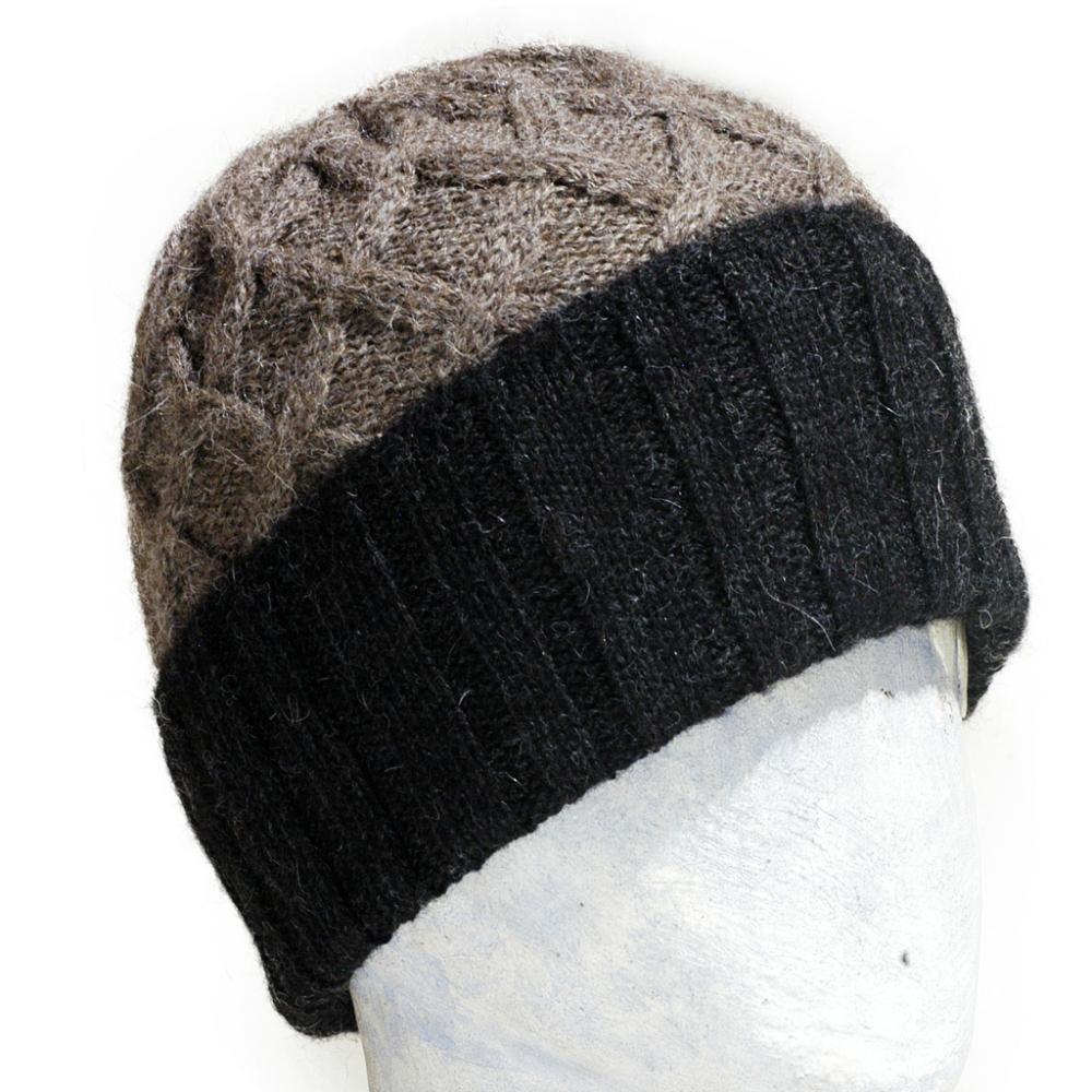 Coconut Knit Alpaca Beanie