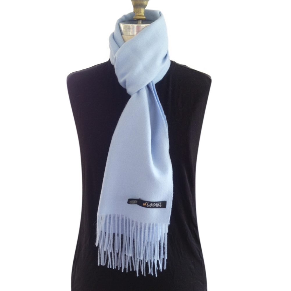 Classic Baby Alpaca Brushed Scarf