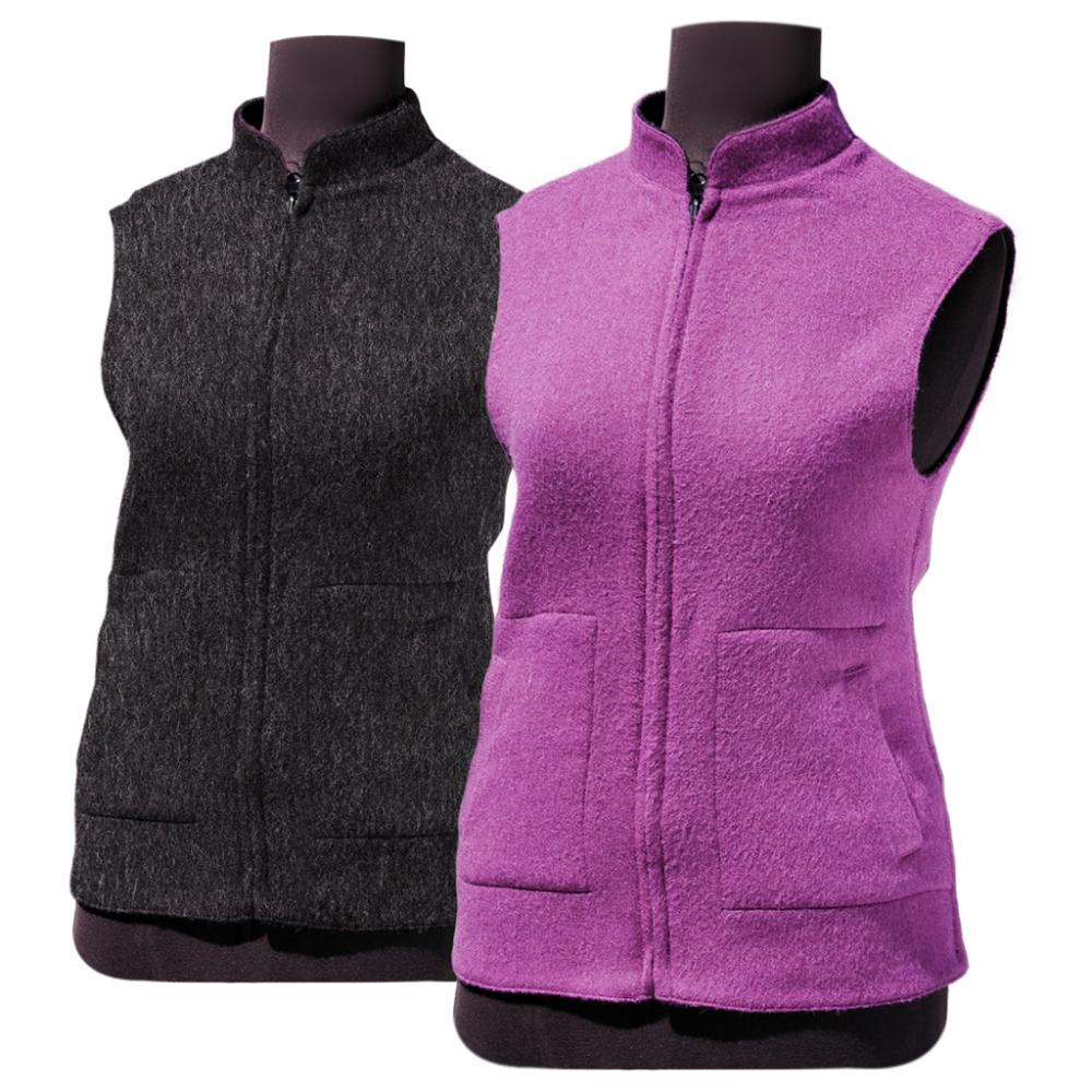 Wayna Princess Reversible Alpaca Fabric Vest
