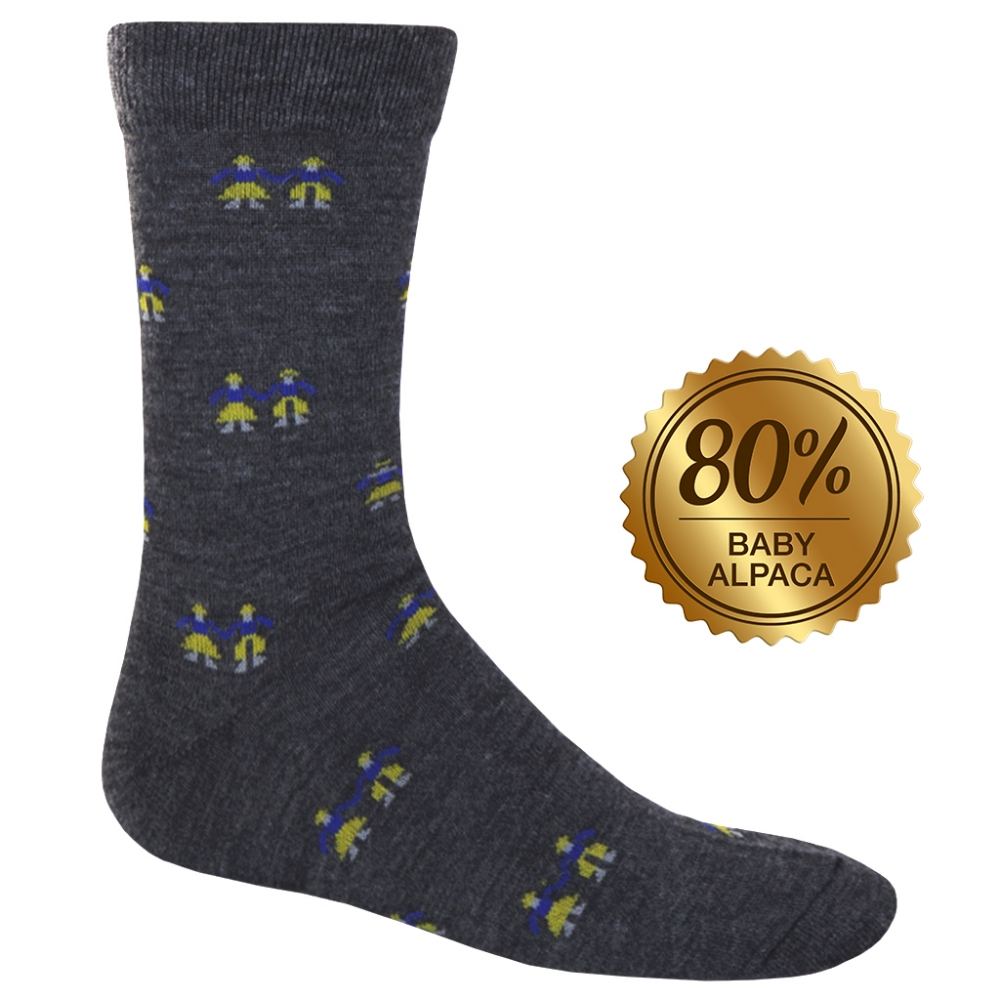 Executive Baby Alpaca & Silk: Cholita Socks