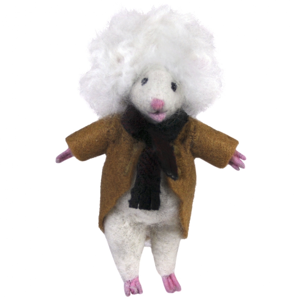 Albert Mouse: Felted WoolPaca