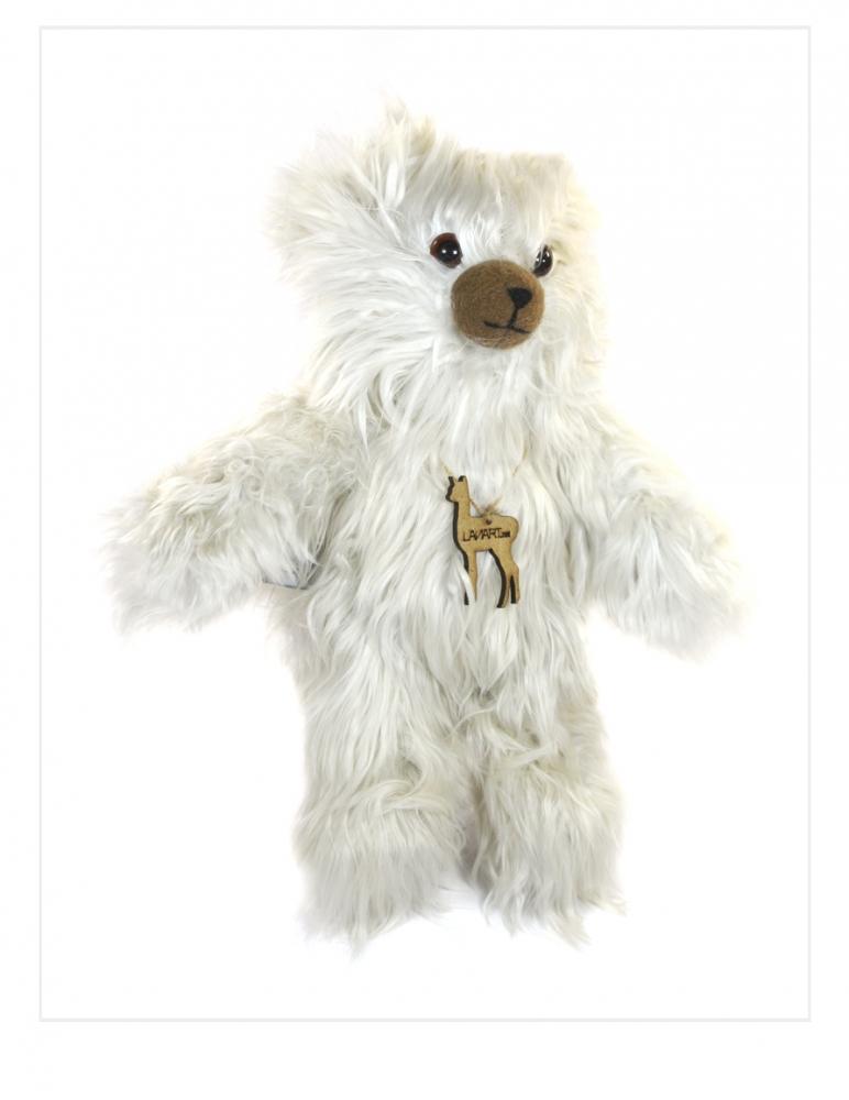 """Suri Alpaca Teddy Bear: Cuddly 11"""""""
