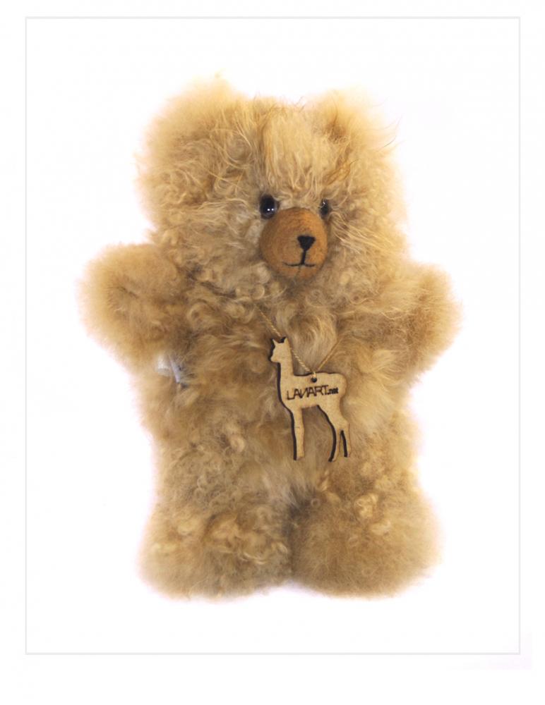 "Alpaca Teddy Bear: Baby 6"""
