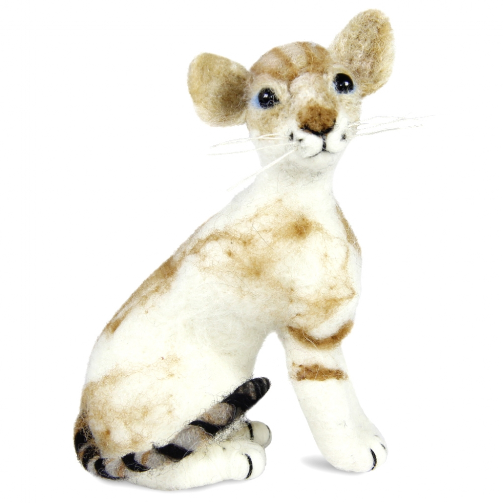 Colorpoint Shorthair Cat: Felted WoolPaca