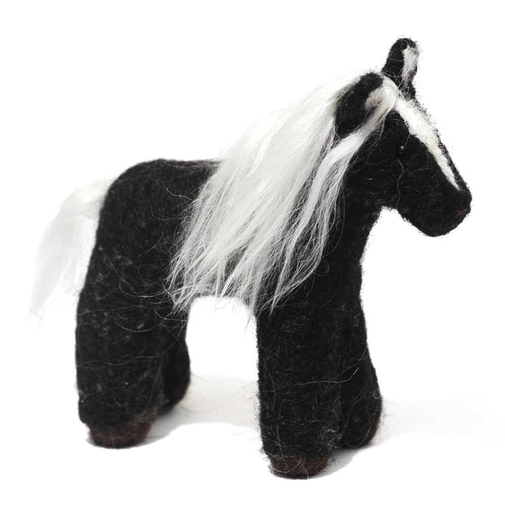 Horse: Felted Alpaca