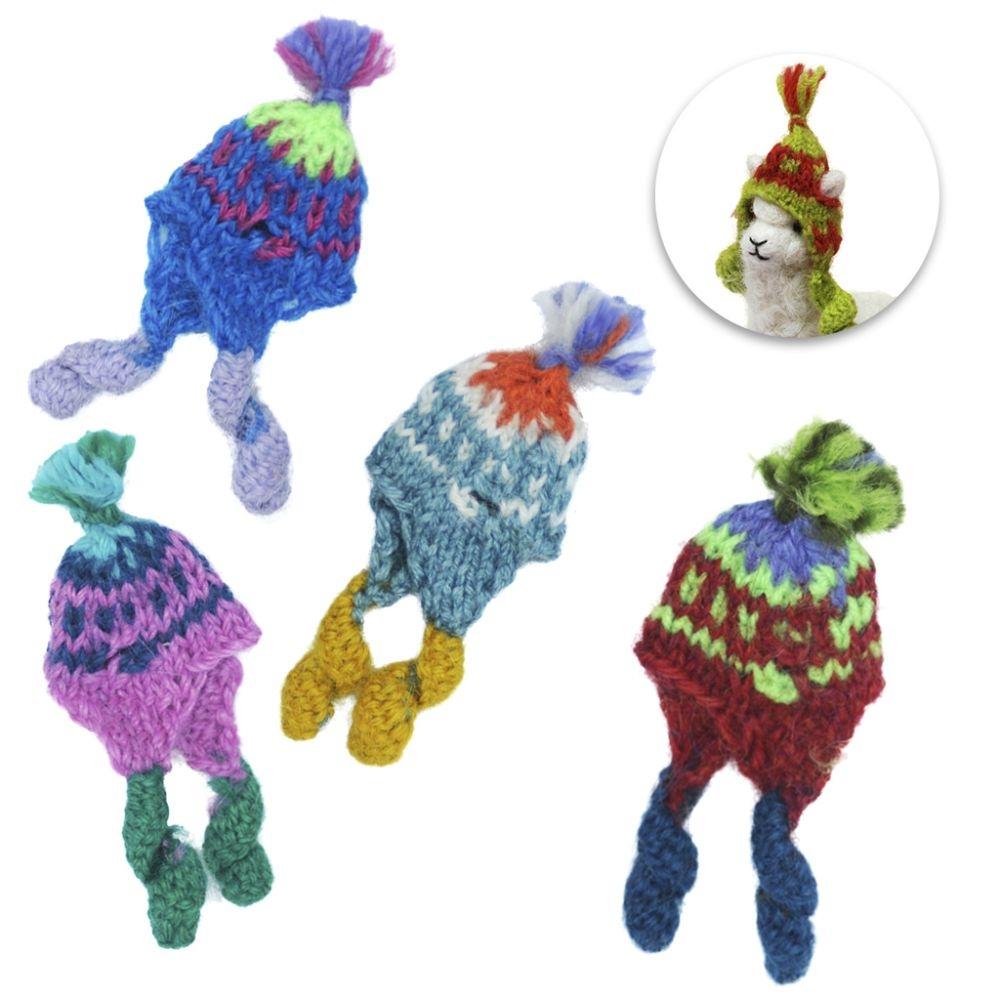 Mini Knit Alpaca Chullo