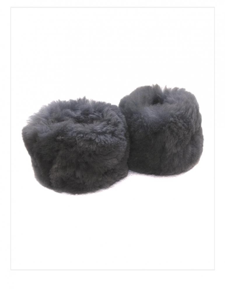 Fur Cuffs: Genuine Baby Alpaca