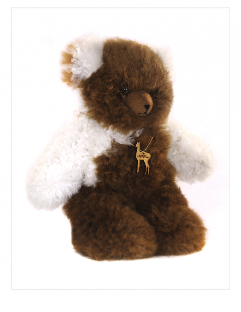 "Alpaca Teddy Bear: Classic 14"""