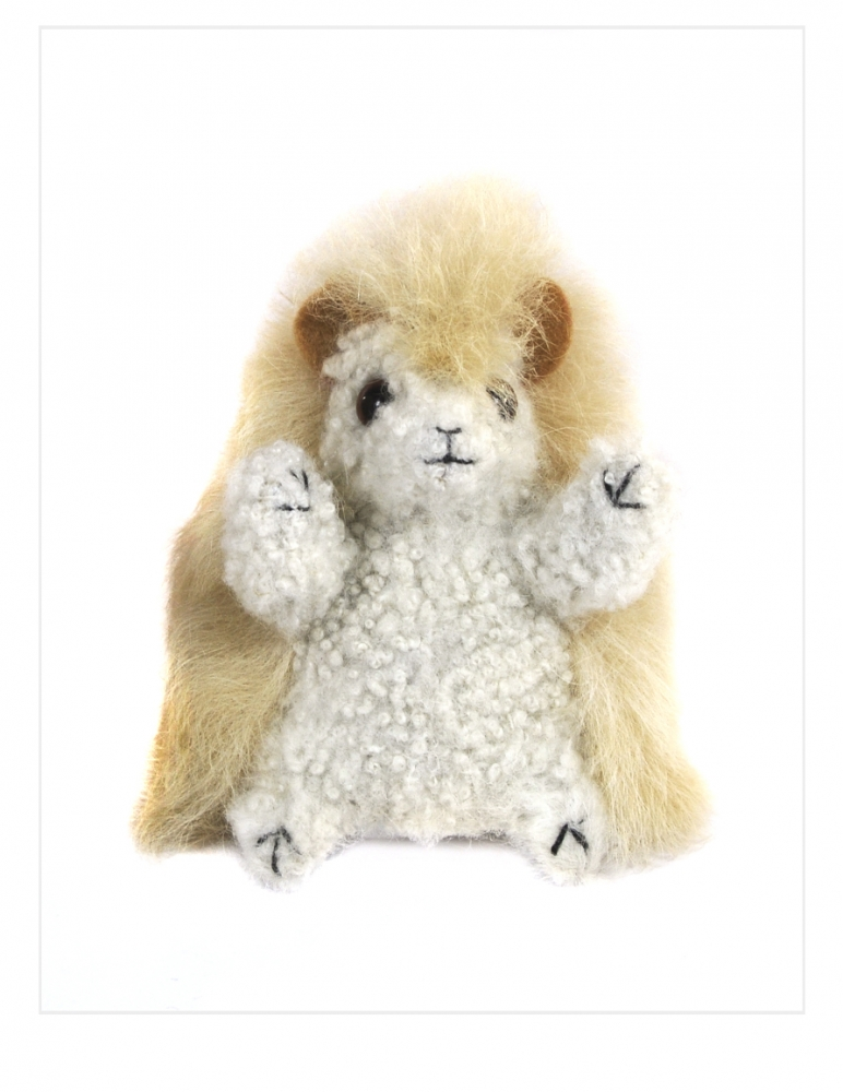 Chico Hedgehog: Alpaca Fur