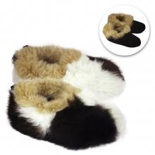 e3cf6e66adf Reversible Alpaca Fur House Slippers